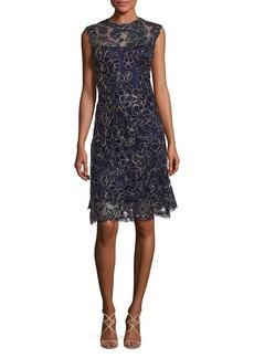 Tadashi Lace Sleeveless Dress