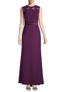 Tadashi Lace Sleeveless Gown