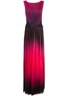 Tadashi ombré evening dress