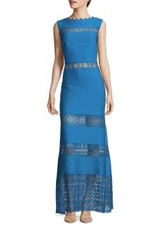 Tadashi Pintuck Gown