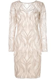 Tadashi sequin embellished dress