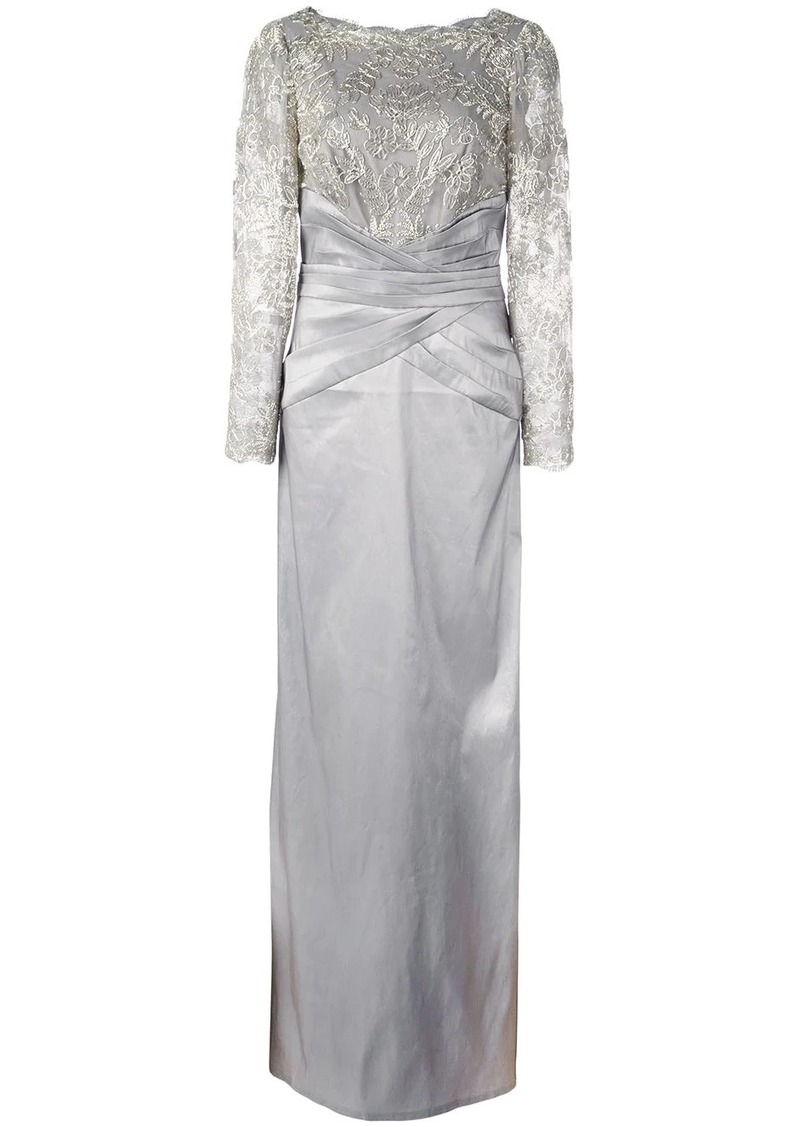 Tadashi sequinned gown
