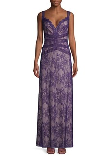 Tadashi Sweetheart Lace Gown