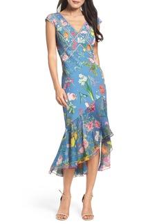 Tadashi Shoji Clara Floral Midi Dress
