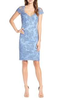 Tadashi Shoji Corded Lace Sheath Dress (Regular & Petite)