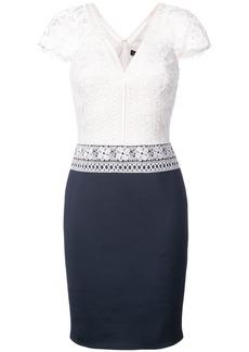 Tadashi crochet lace top dress