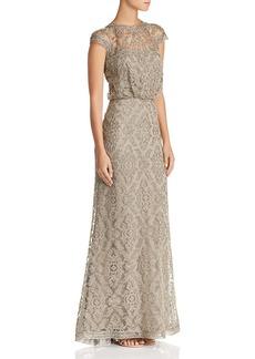 Tadashi Shoji Embroidered Blouson Gown - 100% Exclusive