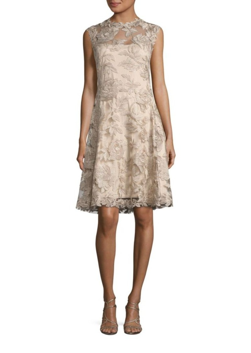 Tadashi Tadashi Shoji Embroidered Lace A-Line Dress | Dresses