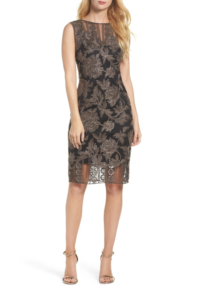 Tadashi Tadashi Shoji Embroidered Lace Sheath Dress | Dresses