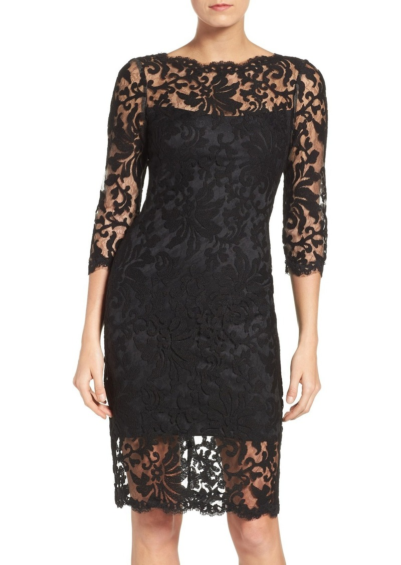 Tadashi Tadashi Shoji Embroidered Lace Sheath Dress | Dresses
