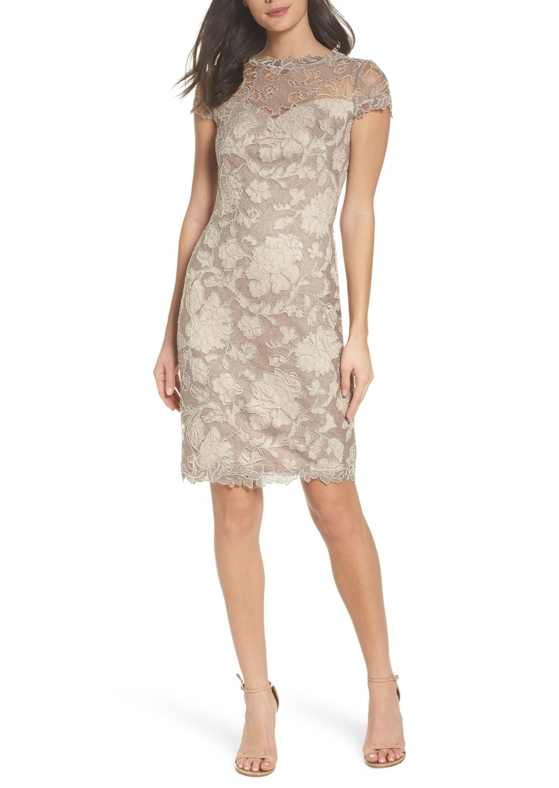 Tadashi Tadashi Shoji Embroidered Lace Sheath Dress (Regular ...