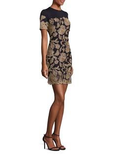 Tadashi Shoji Floral Patterned Sheath Dress