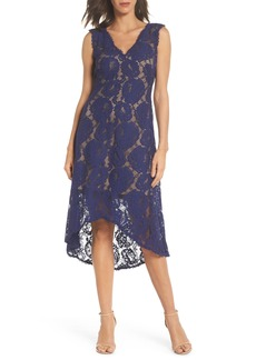 Tadashi Shoji High/Low Lace Dress