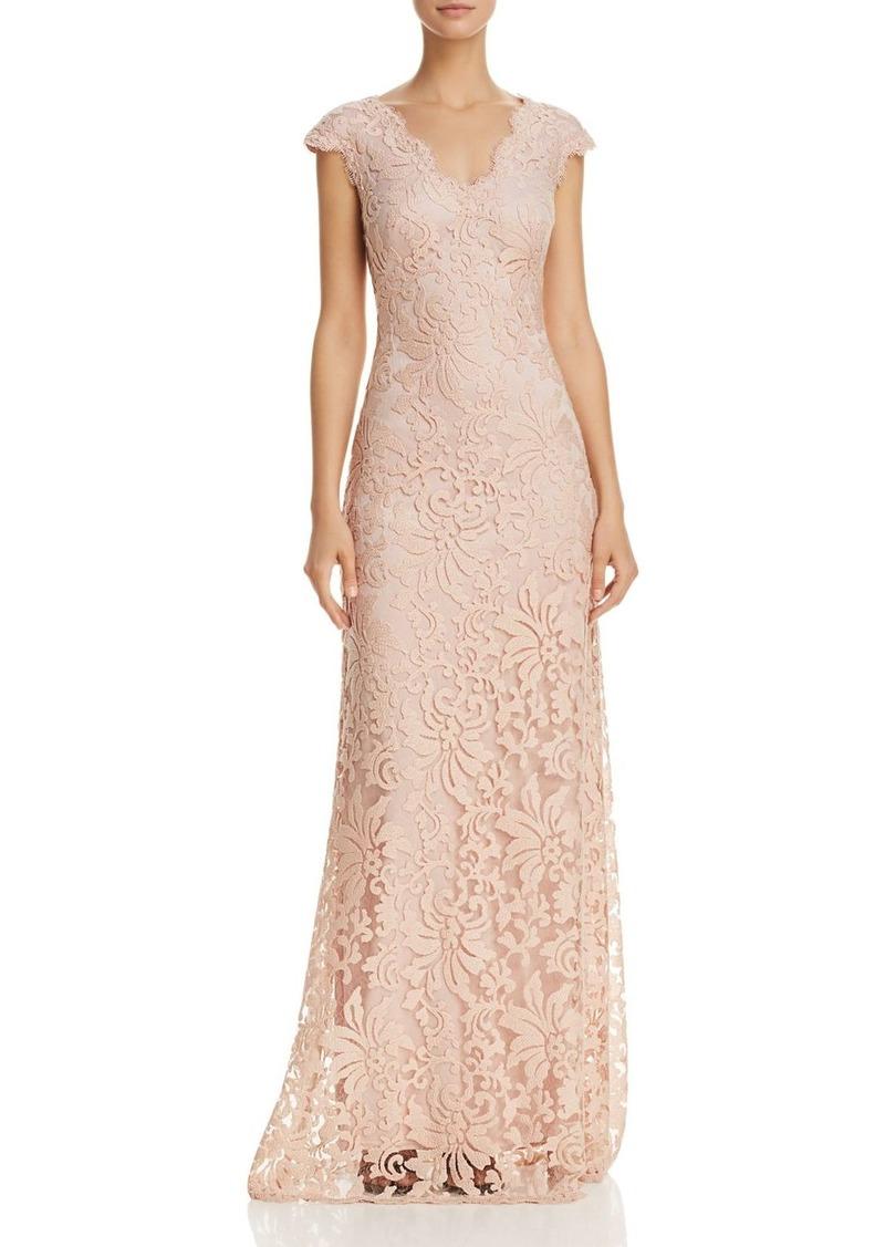 Tadashi Tadashi Shoji Illusion Lace Gown- 100% EXCLUSIVE | Dresses