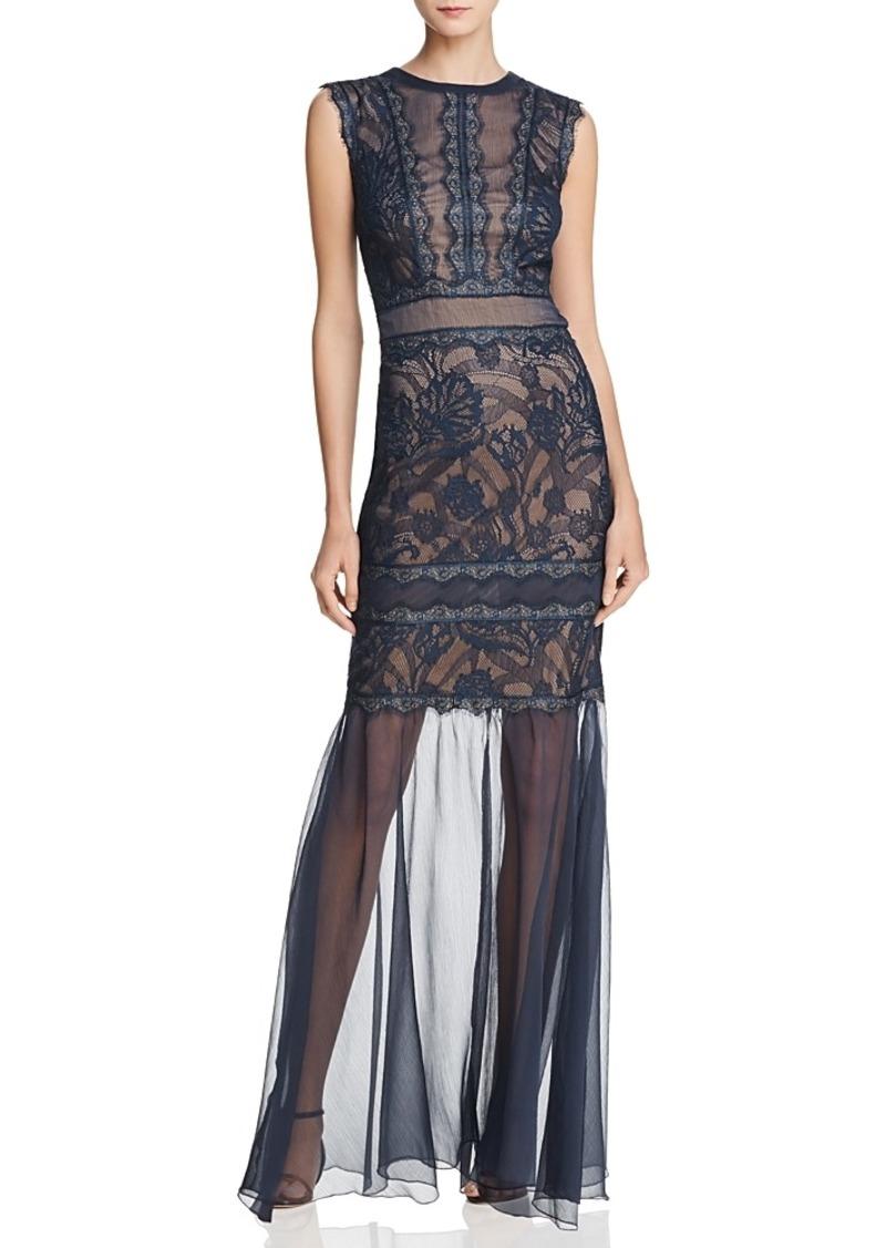 Tadashi Tadashi Shoji Illusion Lace Gown | Dresses