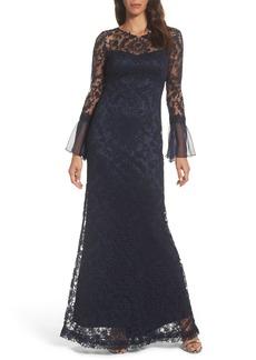 Tadashi Shoji Lace Mermaid Gown