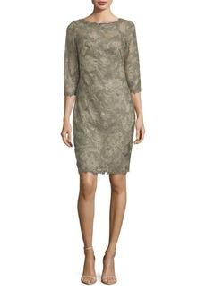 Tadashi Lace Sheath Dress