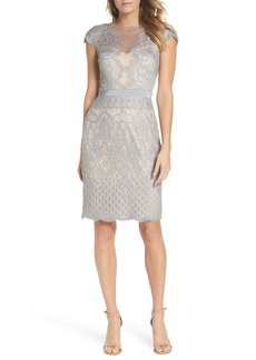 Tadashi Shoji Lace Sheath Dress (Regular & Petite)