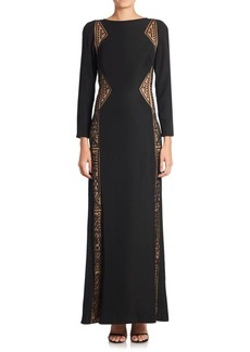 Tadashi Long Sleeve Dress