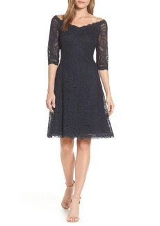 Tadashi Shoji Off the Shoulder Lace Dress