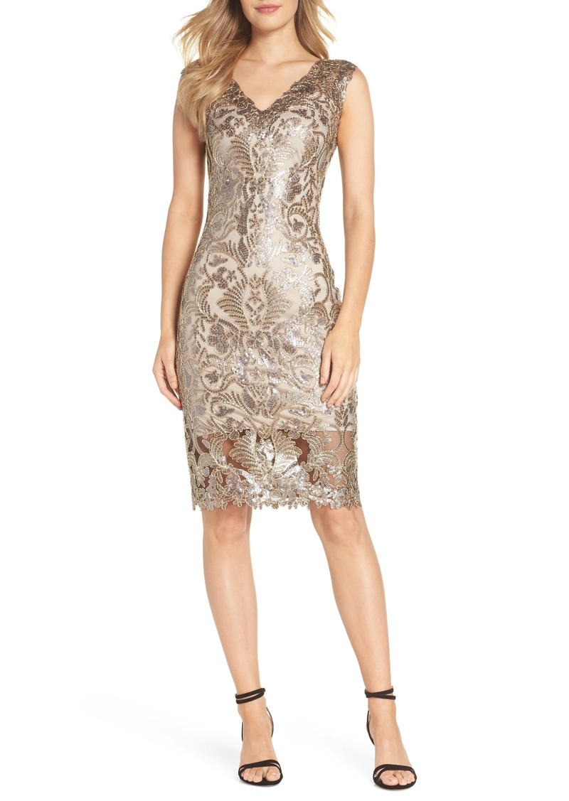 420ea8d0 Tadashi Tadashi Shoji Sequin & Lace Sheath Dress | Dresses