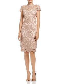 Tadashi Shoji Sequined Lace Dress