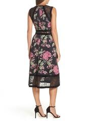 d9fc07f73dc2a Tadashi Tadashi Shoji Sleeveless Floral Print Midi Dress | Dresses