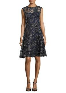 Tadashi Shoji Sleeveless Lace Dress