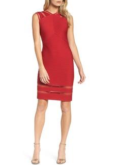 Tadashi Shoji Sleeveless Pintuck Dress (Regular & Petite)