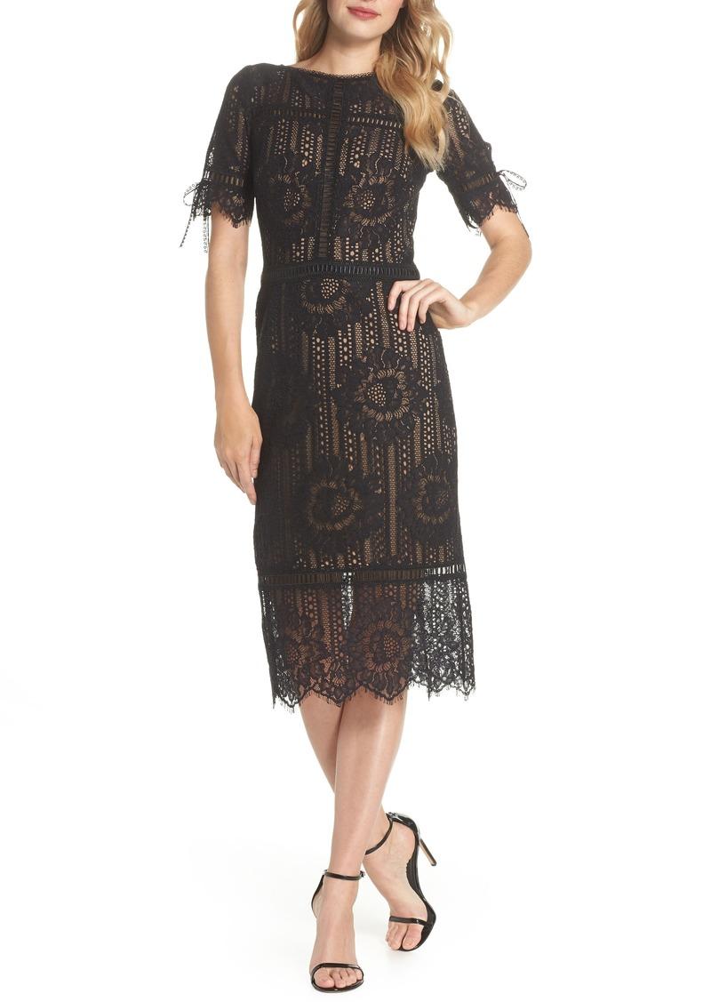 74a092f731bcf Tadashi Tadashi Shoji Tie Sleeve Lace Dress   Dresses