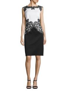 Tadashi Neoprene Sheath Dress