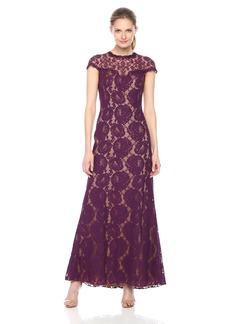 Tadashi Shoji Women's Floral Lace Gown