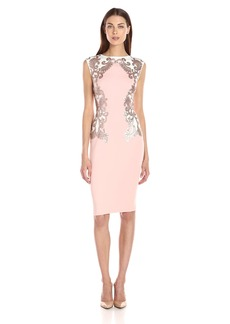 Tadashi Shoji Women's Neoprene with Sequin Detail Dress