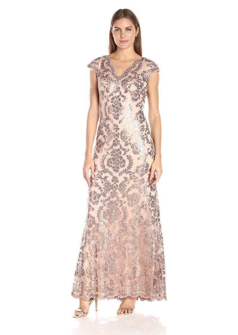 Tadashi Tadashi Shoji Women\'s Sequin Lace Cap SLV Dress | Dresses