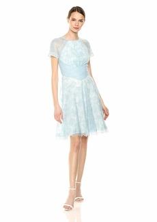 Tadashi Shoji Women's Short Sleeve lace Dress