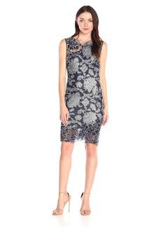 Tadashi Shoji Women's Sleeveless Lace Sheath Dress