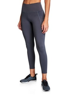 Tahari 7/8 Side-Pocket Colorblock Leggings