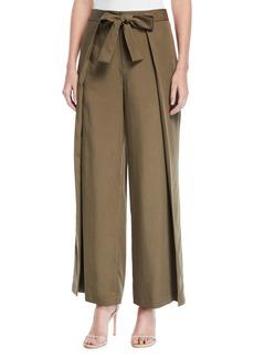 Tahari Alvy Tie-Waist Pants