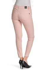 Tahari Amelia Button Fly Skinny Jeans