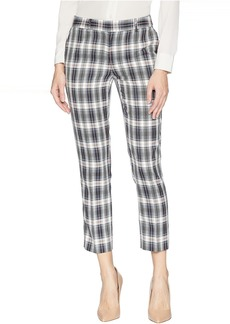 Tahari Ankle Length Plaid Pants