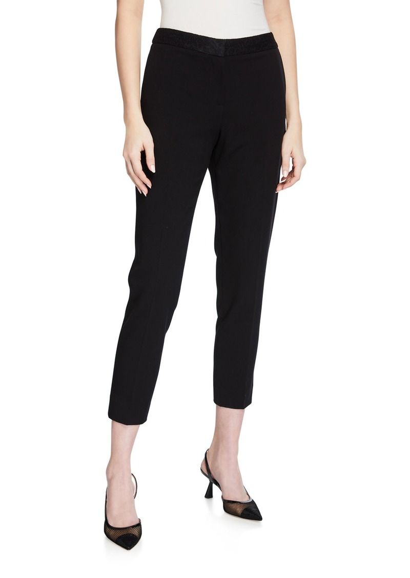 Tahari Ankle Pants With Lace Combo