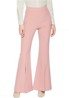 Tahari Bell Bottom Pants with Slit Leg