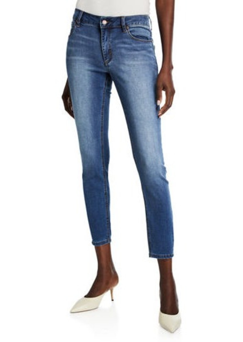 Tahari Classic Cropped Skinny Jeans