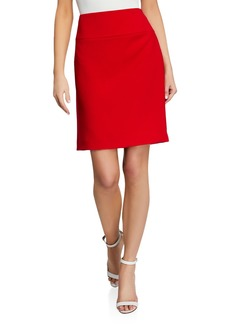 Tahari Classic High Rise Midi Skirt