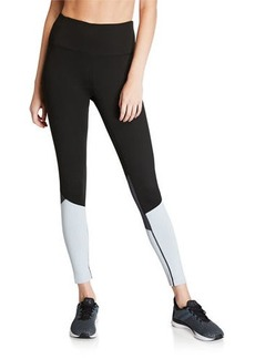 Tahari Colorblock High Waist Leggings
