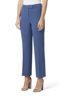 Tahari Crepe Boot-Cut Pants