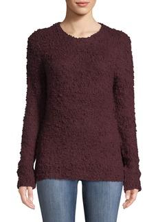 Tahari Crewneck Textured Knit Sweater