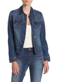 Tahari Denim Trucker Jacket