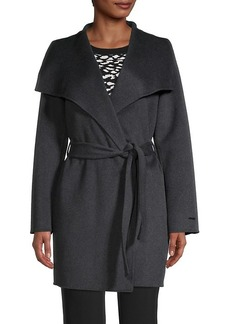 Tahari Ella Wrap Coat