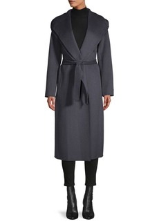 Tahari Elliot Long Wrap Coat